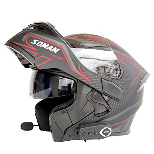 Soman Motorcycle Helmet Full Face Washable Capacete Full