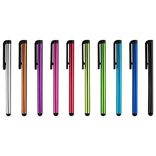 Lápiz óptico de Microfibra para Dispositivos con Pantalla táctil (11 Unidades) 10 Stylus Pen Stylus