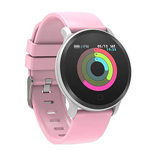 BingoFit Vito Fitness Tracker Smart Watch, Waterdichte Activiteit Tracker met Hartslagbloeddrukmeter, Slaapmonitor Stappenteller Watch, Stap Tracker, Calorie Counter voor Kinderen Vrouwen Mannen, IOS Android