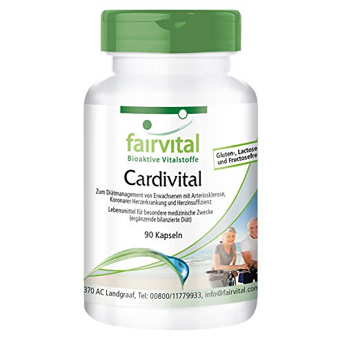 Cardivital - Herzvitamine - reichhaltiges Multivitamin ohne Vitamin K - 90 Kapseln