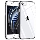 Syncwire Coque Compatible avec iPhone 8/7/SE 2020 -Transparente Housse de Protection en Silicone...