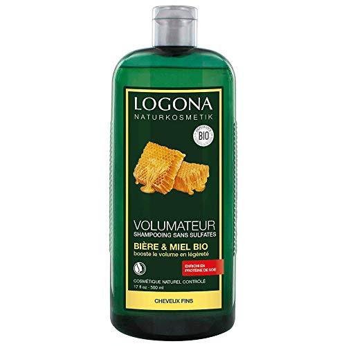 LOGONA Shampooing volumateur miel bière - 500ml