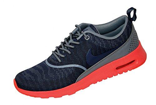 Nike - W Air Max Thea Kjcr - Color: Azul marino-Naranja - Size: 36.5