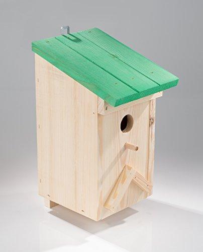 Nestkast voor mezen massiefhout 33x 15 x 195 cm