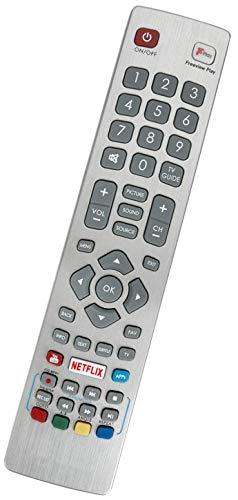ALLIMITY SHW/RMC/0129 Afstandsbediening Vervangen voor Sharp Aquos with Netflix F-Play LC-32HG5141KFLC-32HG5151KF LC-32HG5342KF LC-32HI5432KF LC-40CFG6002KF LC-40FG5141KF LC-49CFG6001KF LC-49CFG6002KF