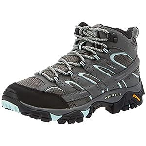 Merrell Women's Moab 2 Mid Gtx Hiking Boot, Sedona Sage, 11 M US