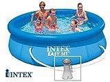 Piscina fuori terra Intex EASY SET Ø 3,05 x 0,76 m + filtrazione Intex 28122FR