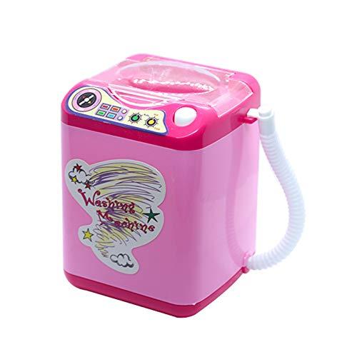 Simu US Mini elektrische Waschmaschine, Puppenhaus Möbel so tun, als Spielen Sie Spielzeug Make-up...