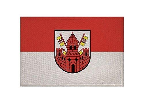 U24 Aufnäher Unna Fahne Flagge Aufbügler Patch 9 x 6 cm