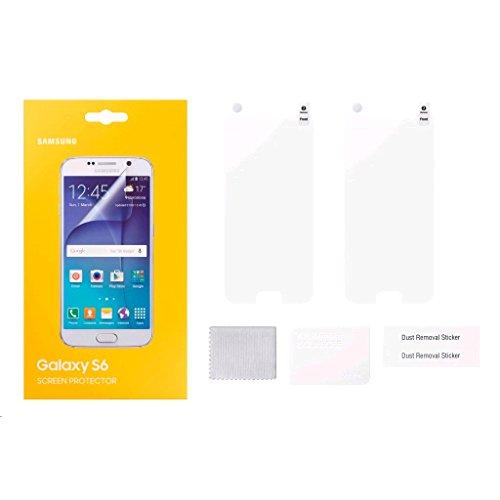 Samsung Displayschutzfolie Screen Protection transparent für Galaxy S6 - 2er Pack