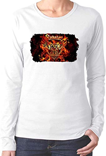 AiChao Sabaton Coat of Arms Women Tshirt Funny Graphic Tshirts Tops