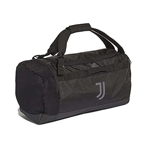 adidas Juventus Turin Duffel Bag - Bolsa de deporte (talla única), color negro