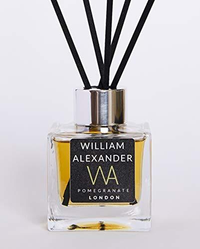 William Alexander Diffuseur de parfum longue durée à base d'huile parfumée Grenade 100 ml