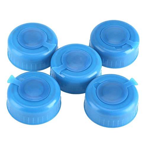 5 Stücke Anti Splash Deckel Kappe Ersatz Gallone Wasser Flaschenverschlüsse Kunststoff Blau Gallone Trinkwasser Flasche Schraube auf