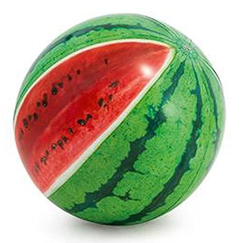 Intex - Ballon Gonflable Pastèque 107cm Vert