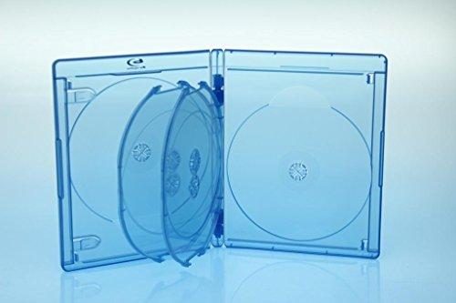 5 BluRay 6er BD Hüllen / 15mm / geeignet für 6 Datenträger