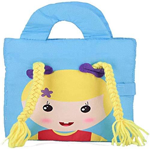 Spielzeug Quiet Buch, Sie können Lernen, von den Sinnen, 3D-Design Buch for Eltern-Kind-Kommunikation, Buch for Busy Cloth-Aktivitäten, und Weihnachten for Kinder