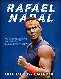 """Rafael Nadal Calendar 2022: SPORT Calendar 2022-2023 – 18 months – BIG SIZE 17""""x11"""". Planner for all fans kids boys - Tennis Calendar 2022 2021-2022"""