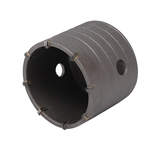 Beton TCT Core Boor Tungsten Carbide Getipte Baksteen en SDS Plus Beton TCT Core Boor Bit Houder Core Drill 80MM