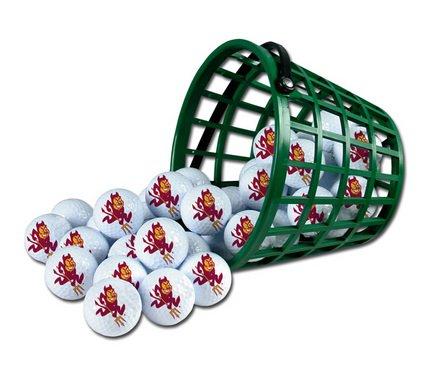 Great Features Of WinCraft NCAA Arizona State University Bucket of 36 Golf Balls