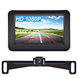 Yakry Y11 HD 1080P Backup Camera and 4.3 Inch Monitor Kit Hitch...