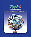 Rapi G Gas Fumigation Sachet | Disinfector, Sterilizer, Fumigator For Home, Office, Suitable For Upto 3500 cubic Feet Space, Disinfect Area From Viruses, Bacteria, Fungi -Certified By WHO Pack of 5
