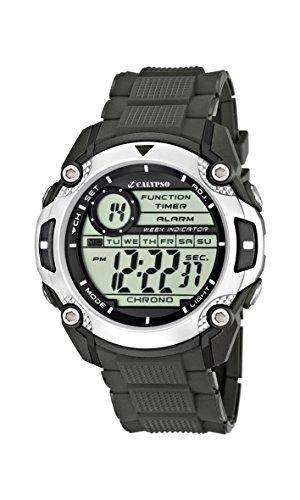Calypso watches K5577/1 - Reloj hombre digital sumergible, color negro
