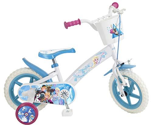 Toimsa Frozen Vélo pour Enfant sous Licence la Reine de Neige 12 Pouce de 3 à 5 Ans, 680U EN71