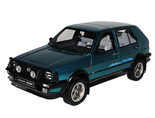 Otto Volkwagen Golf II Country Grün 1983-1992 Nr 143 1/18 Modell Auto mit individiuellem Wunschkennzeichen