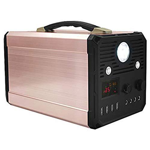 1000W groupe électrogène solaire portatif 3000W pic UPS batterie de secours au lithium alimentation de secours avec prise de courant alternatif, 4 USB pour la pêche de camping en plein air d'urgence