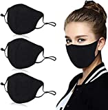 3PCS Reusable Cotton 4 Layer Protective Face Protector