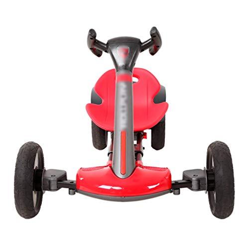 De los niños en Las Cuatro Ruedas Plegable eléctrica Karting Karting Drift Plaza de Coches de Juguete Ajustable Delanteros y Dos Traseros Engranajes de Acero Grueso
