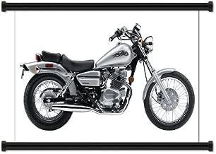 Honda Rebel Sports Bike Fabric Wall Scroll Poster (32