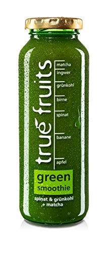 True Fruits Fruchtsaft Smoothie Grünkohl/Spinat, 1er Pack (1 x 250 ml)