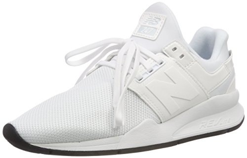 New Balance 247v2, Zapatillas Mujer, Blanco (White/White Metallic Ud), 37.5 EU