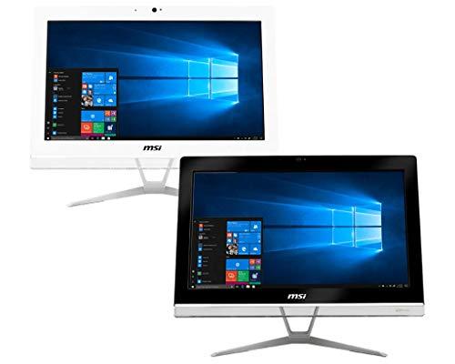 MSI PRO 20EXTS 8GL-071EU 19,5 Zoll HD Desktop-PC (Celeron N4000 Dual Core, 4GB RAM, 64GB SSD, IntelUHD Graphics 600, Windows 10 Pro, weiß