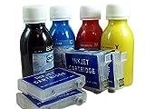 Kit de Recarga para Cartuchos de Tinta Serie 29 / 29XL Auto-reseteables para Expression Home XP + Cartuchos Recargables y Accesorios + 400 ML Tinta