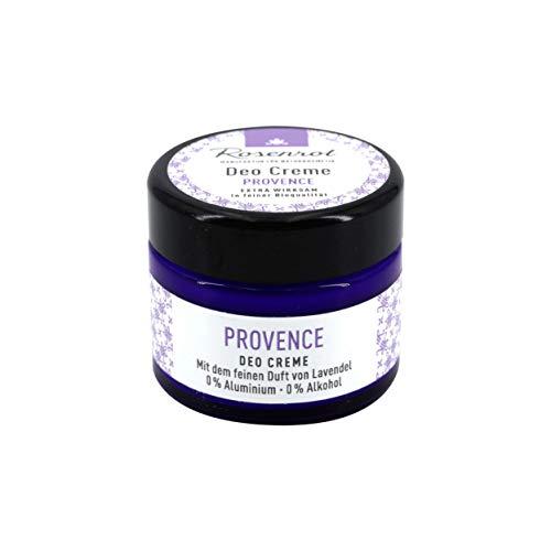 Rosenrot Naturkosmetik - Deo Creme - Provence - Mit dem feinen Duft von Lavendel - 0% Aluminium - 0% Alkohol - VEGAN