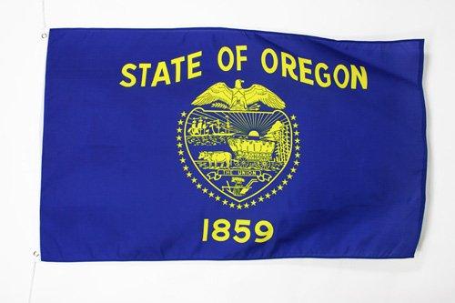 AZ FLAG Drapeau Oregon 90x60cm - Drapeau Etat américain - USA - Etats-Unis 60 x 90 cm - Drapeaux