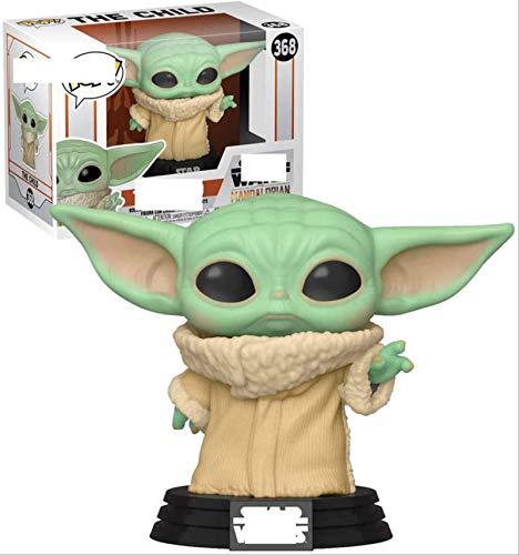 ZXZX Funko Pop Star Wars Mandalorian Hand Office Aberdeen Decoración Modelo Yoda...