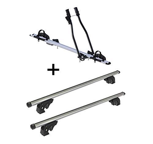VDP fietsendrager SAGITTAR + dakdrager/dakdrager LION2 compatibel met Citroen C4 Picasso (Mk1) (5 deurs) 06-13