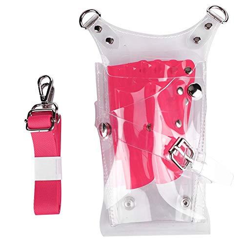 Vobor Haarstylist Schaartas - Hair Styling Tools Opbergtas - Kappers benodigdheden Buidelzak met taille riem roze
