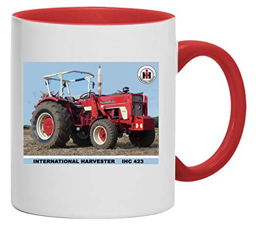 Bimaxx® Tasse | IHC 423 International Harvester | weiß/rot