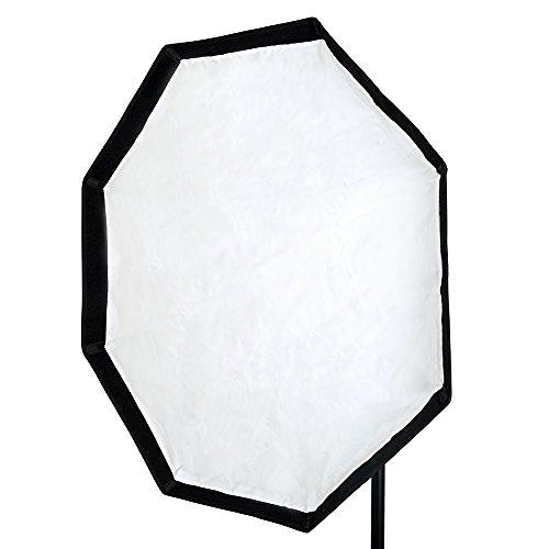 PIXAPRO - Caja de luz Rectangular para Estudio estroboscópico, Octogonal no empotrable, para Bowens, Elinchrom, Profoto, Hensel, Broncolor y Multiblitz, con difusor Suave