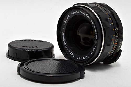 PENTAX Super TAKUMAR 35mm F/3.5 MF Lens (M42 / thread mount)
