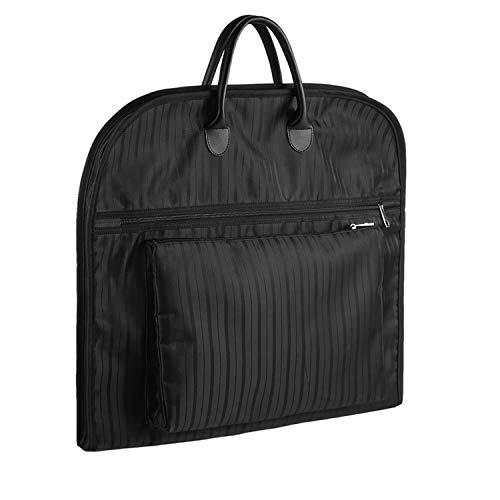 Foregoer FOREGOER Kleidersack für Reisen und Beruf Organizer Aufbewahrungstasche Anzug Kleidertaschen (Schwarz)