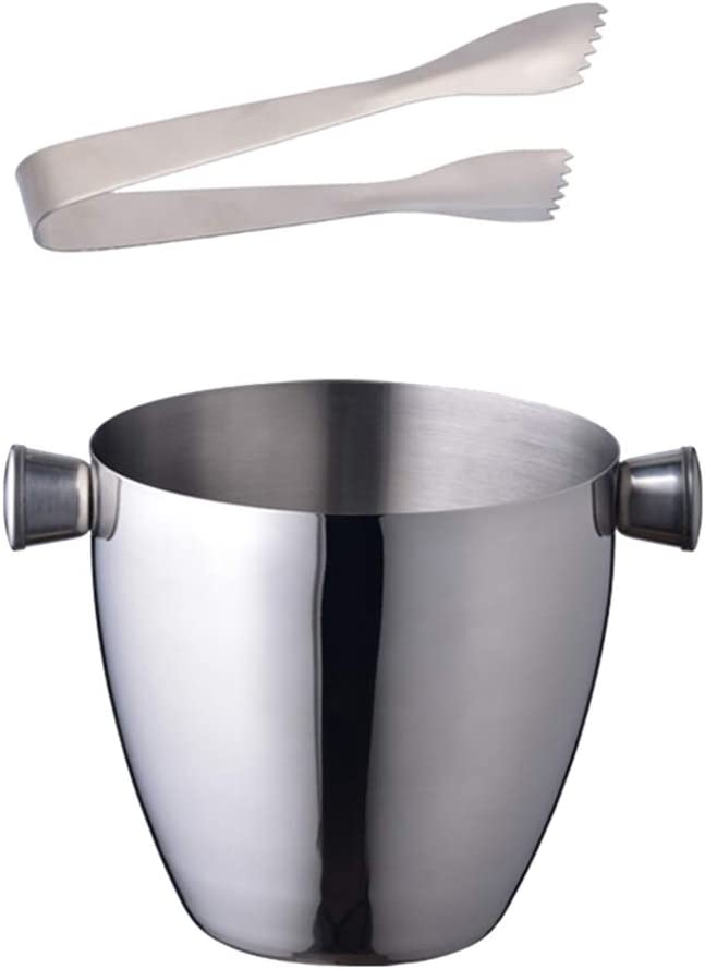 YARNOW Regular store Stainless Steel Ice depot Buckets Beverage Champa Tub Insulated
