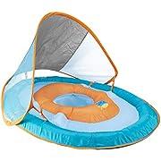 SwimWays Baby Spring Float Sun Canopy - Green Fish
