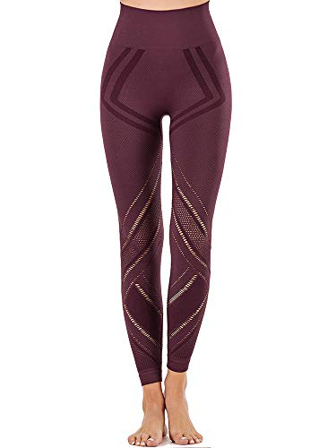 Women High Waist Yoga Pants Tummy Control Athletic Leggings $16.09 (40% Off with code)
