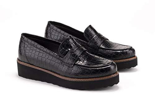 LINCE Blucher Negro Cordones